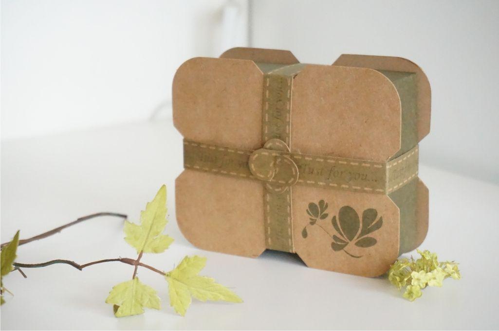 B201-20 花語手工皂紙盒~可裝2塊手工皂~1包20個